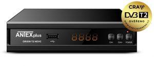 Jste připraveni na nové vysílání DVB–T2? Za 590 Kč včetně DPH, si od nás kupte, nový výkonný DVB-T/T2 set-top-box s podporou HD