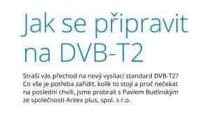 Jak se připravit na DVB-T2